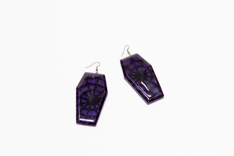 Coffin Earrings