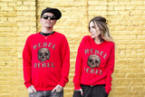 Rebel Holiday Leopard Sweater