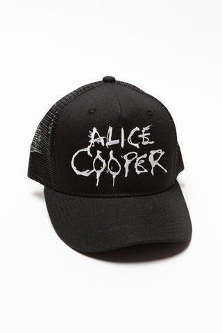 Alice Cooper Embroidered Hat
