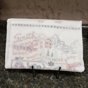South Dakota Dish Towel