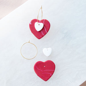 Mix & Match Heart Hoops