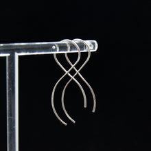 Load image into Gallery viewer, Infinity Earrings - Gold Fill & Sterling Silver
