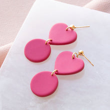 Load image into Gallery viewer, Pink Mini Heart Dangle
