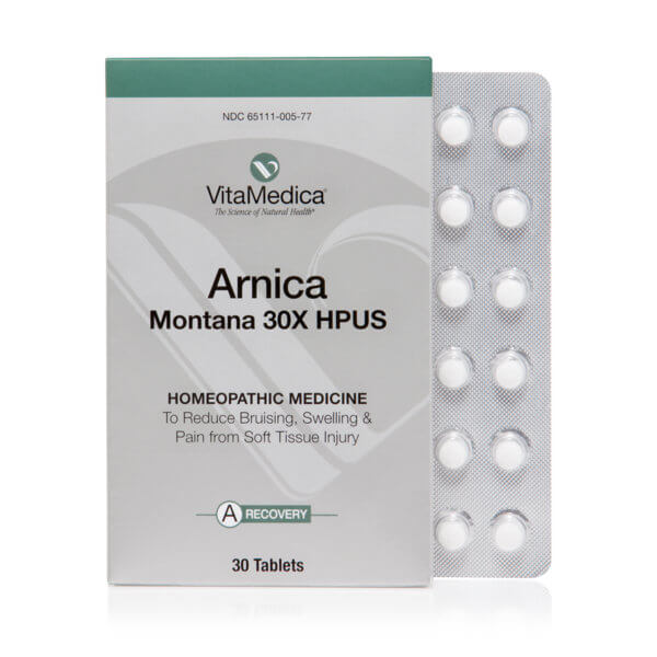 VitaMedica - Arnica Montana 30X Blister Pack (30 tablets, 5-day pack)