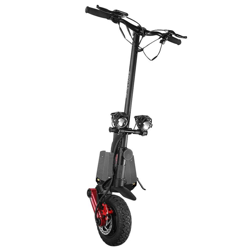 "KUGOO G-BOOSTER Electric Scooter 10"" Pneumatic Tires Dual 800W Motors 3 Speed Modes Max 34 MPH"