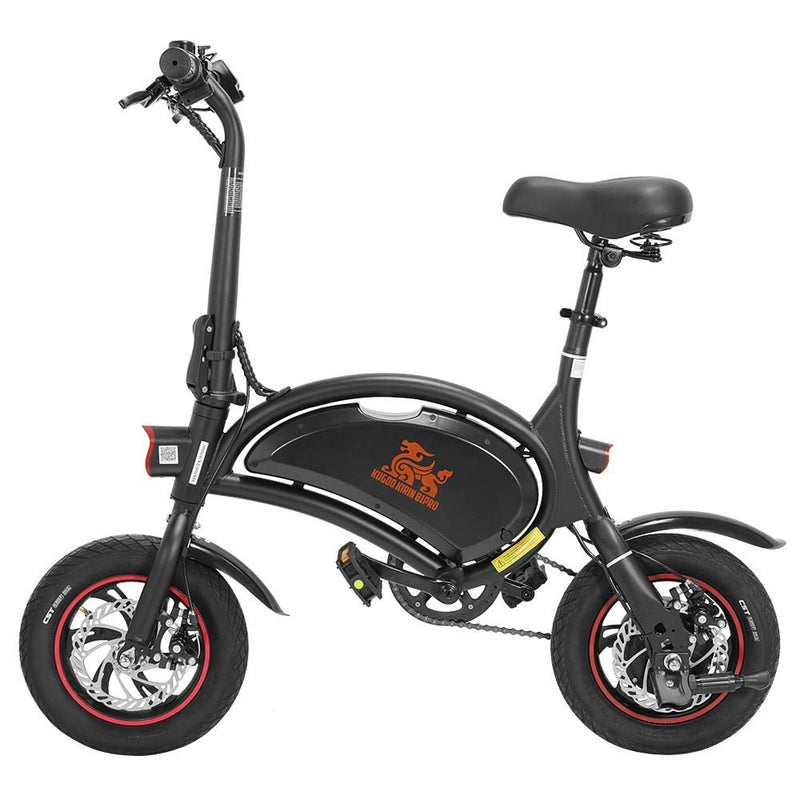 "KUGOO KIRIN B1 Pro Folding Electric Scooter 12"" Pneumatic Tires 250W Motor App Support Max 15.5 MPH"