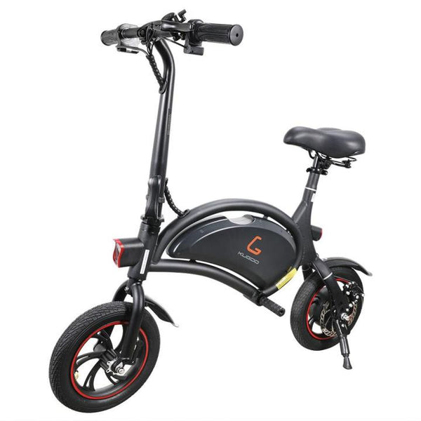"KUGOO KIRIN B1 Folding Electric Scooter 12"" Pneumatic Tires 250W Motor App Support Max 15.5 MPH"