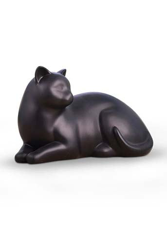 Cozy Cat Urn* - Black