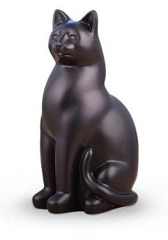 Elite Cat Urn - Black