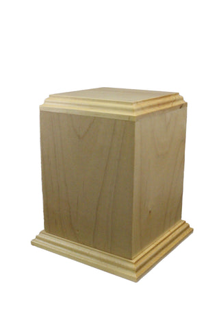Wooden Imperial Urn - Maple