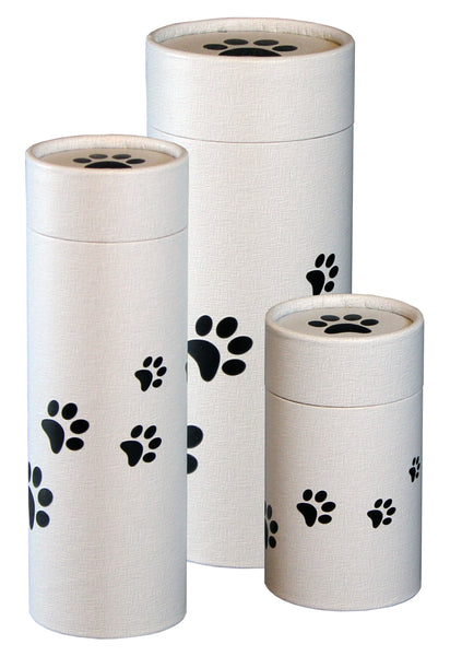 Scattering Tube - Paw Prints