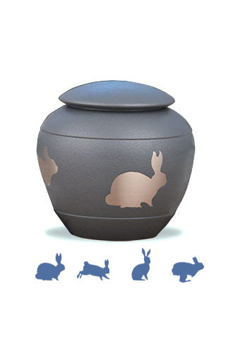 Silhouette Urn - Bunny