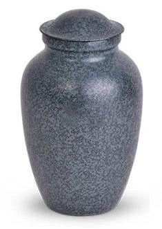 Decorative Metal Urn - Blue
