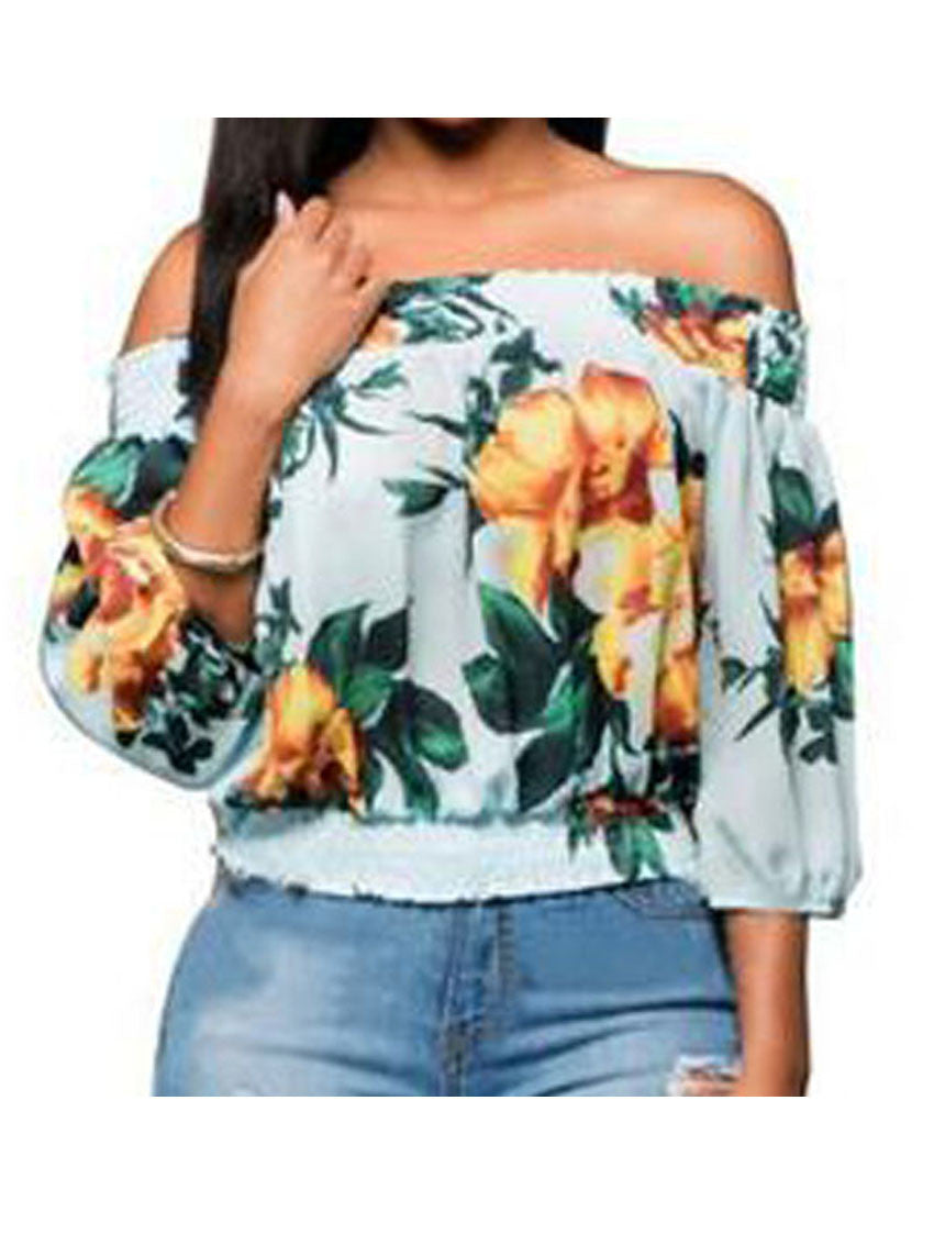 Image of   Veer Off-shoulder Bluse