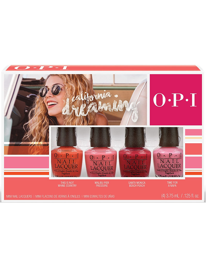 Image of   Opi Neglelak California Dreaming Mini Sæt