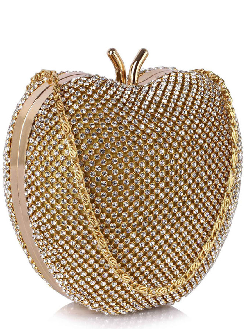 Image of   Anja Hjerteformet Clutch