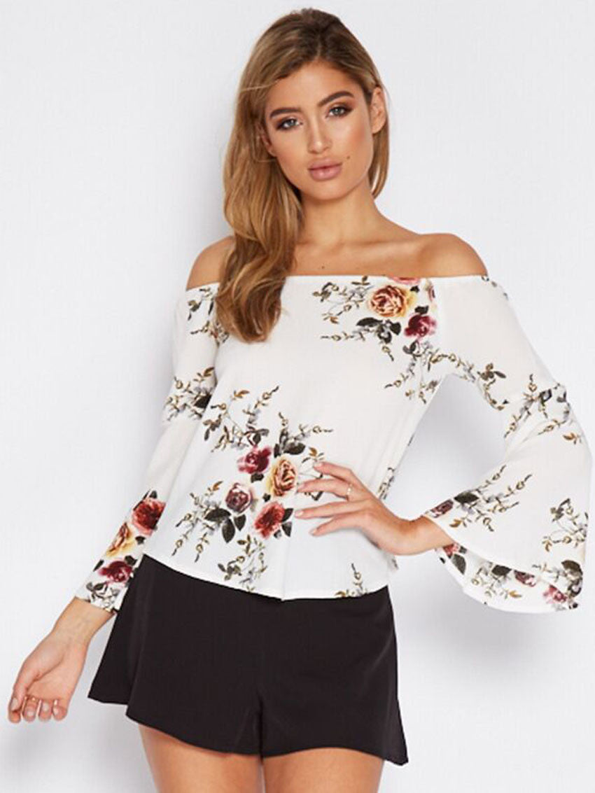 Image of   Aster Off Shoulder Bluse