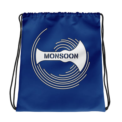 Team Monsoon Drawstring Bag - Blue