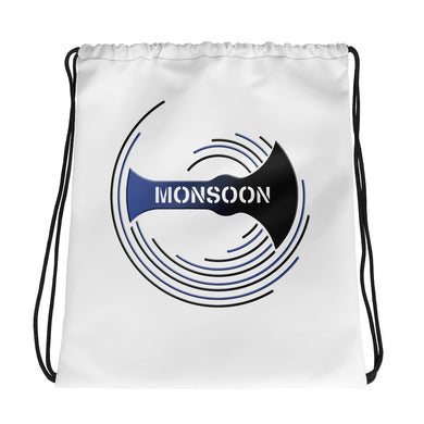 Team Monsoon Drawstring Bag - White