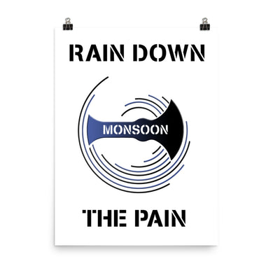 Team Monsoon Large Poster