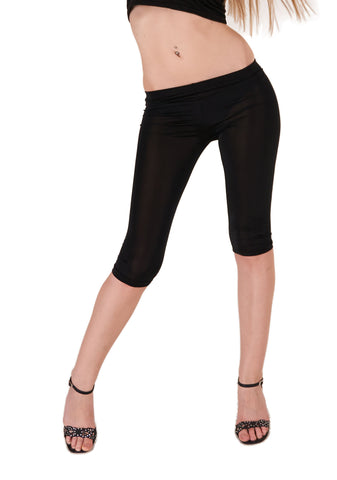 Sort capri legging