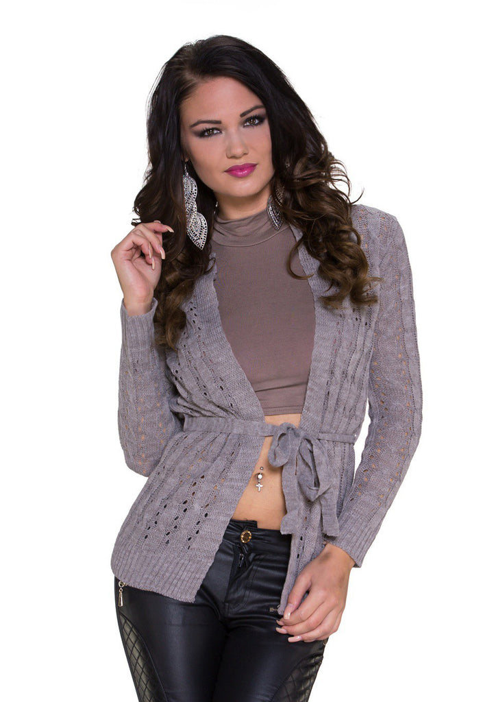 Mezza Strik Cardigan - Fossil
