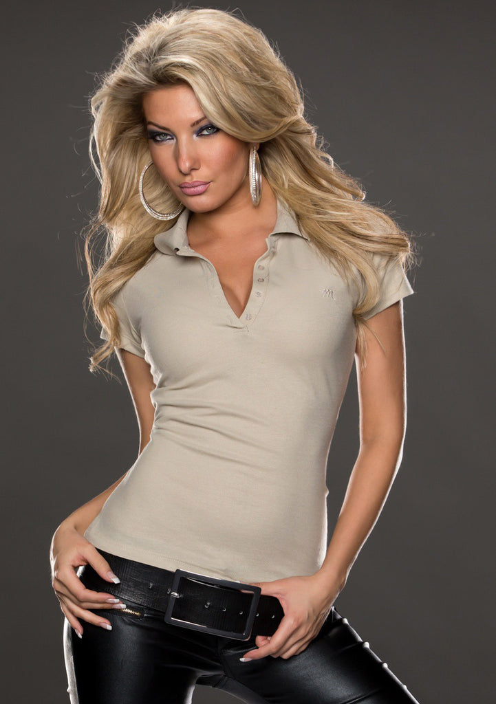 Polo shirt - Plaza Taupe