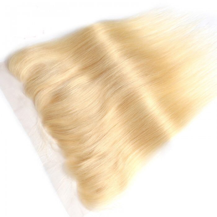 Russian Straight Hair Frontal blonde 613