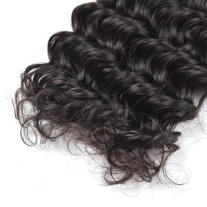 Deep wave 4x4 Lace closure
