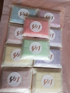 Soy snap bar £1.99 or 10 Soy wax snap bars for only £6.99