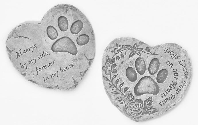Pet memorial stone, loving keepsake