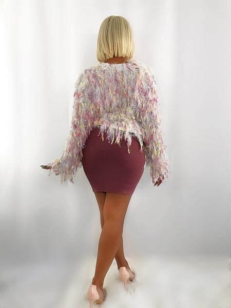 GLAM BANDAGE SKIRT