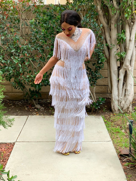 ALL ABOUT FRINGE MAXI