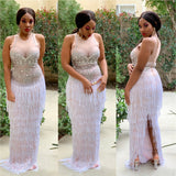 COURTNEY FRINGE MAXI