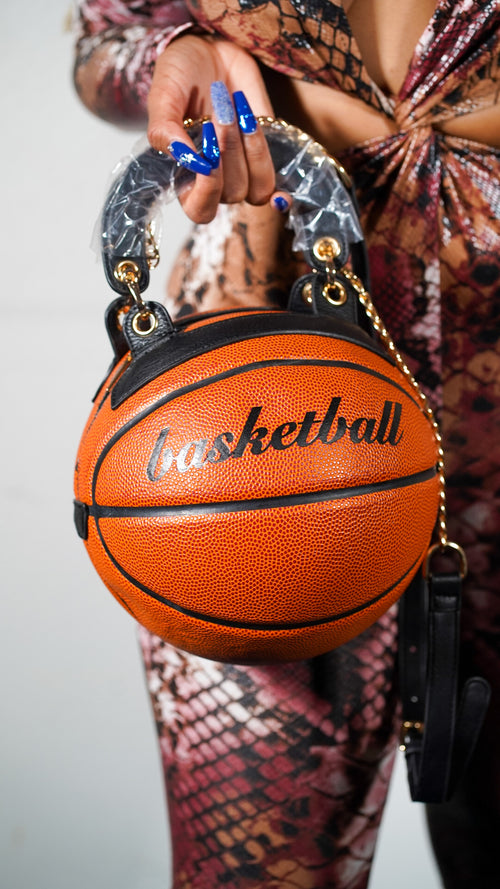 BIG BASKETBALL PURSE