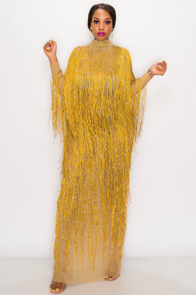 KIMORA FRINGE DRESS