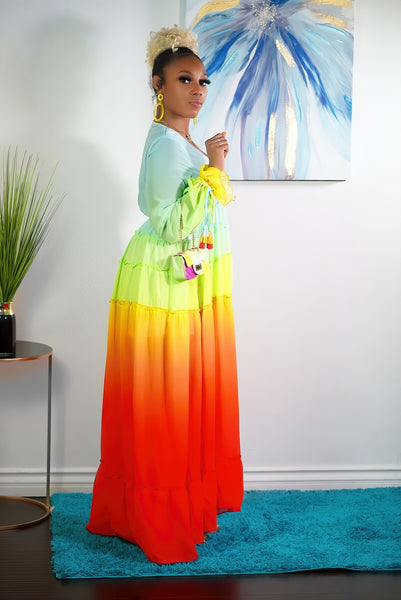 LAYERS OF COLOR MAXI