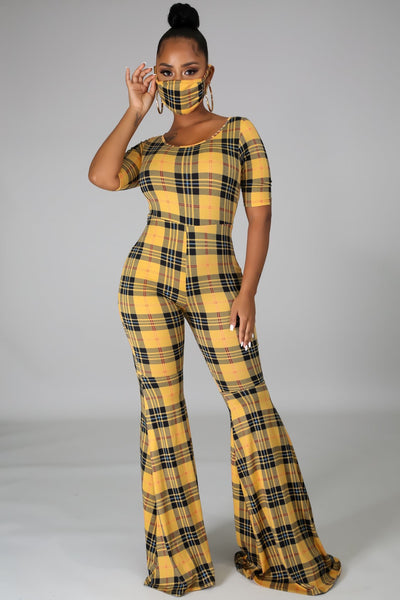 MY PLAID JUMPSUIT