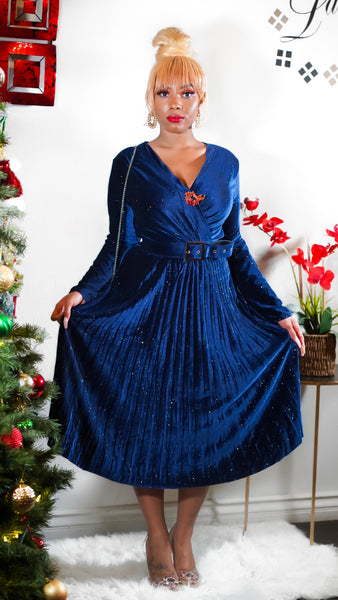MIMI PLEATED DRESS