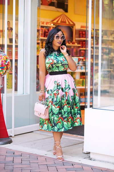 NANCY FLORAL SET