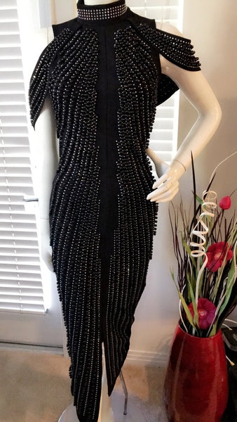 MILAN DRESS-BLACK