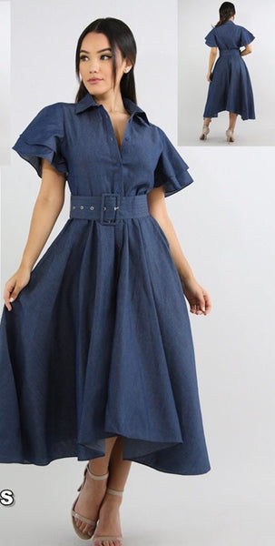 DIDI DENIM DRESS
