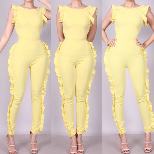 BEVERLY JUMPSUIT SOLID