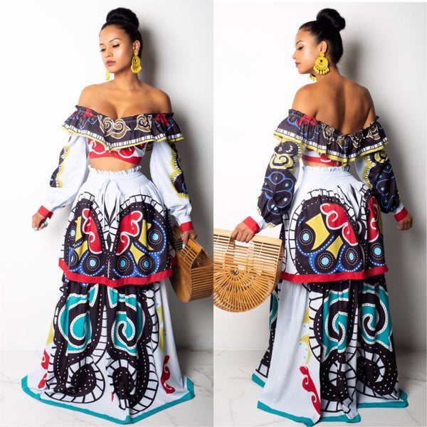 TRIBAL PRINT SET