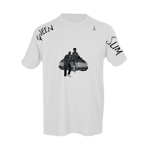Queen & Slim Cutout White T-Shirt + Digital Soundtrack