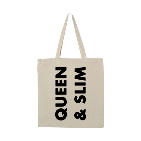 Queen & Slim Stacked Logo Tote + Digital Soundtrack