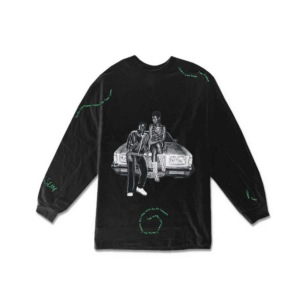 Queen & Slim Longsleeve T-Shirt + Digital Soundtrack