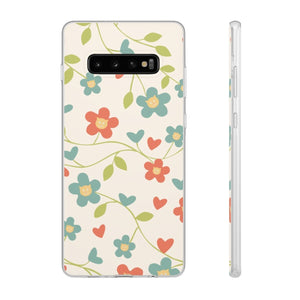 Flexi iPhone & Galaxy Phone Cases: Springtime Cat Phone Case Printify Samsung Galaxy S10 Plus