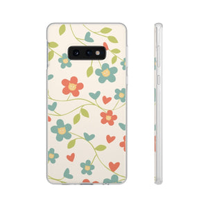 Flexi iPhone & Galaxy Phone Cases: Springtime Cat Phone Case Printify Samsung Galaxy S10E