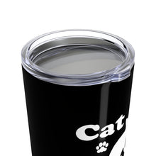 Load image into Gallery viewer, Vacuum Insulated 20oz Tumbler: Cat Dad Mug Printify